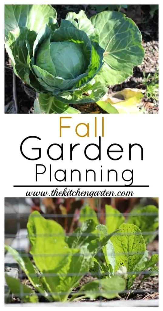 Fall Garden Planning