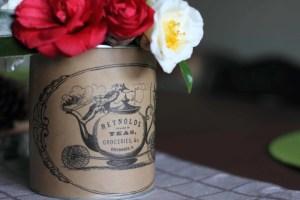 DIY Vintage Tea Canister