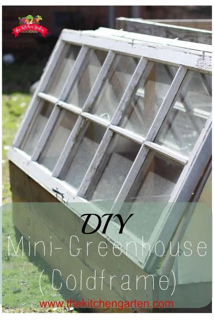 DIY Cold Frame (Mini-Greenhouse)