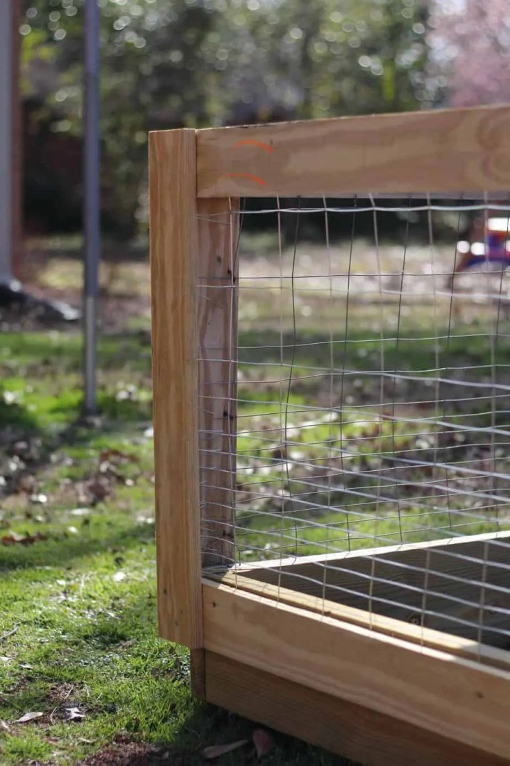 How To Build a DIY Raised Bed Garden Fence- The Kitchen Garten Raised Bed Vegetable Garden Fence Designs on raised flower bed landscaping idea, kitchen garden plans and designs, vegetable garden planters designs, stone raised garden bed designs, garden trellis designs, garden deer fence designs, country vegetable garden designs, raised fence bed kits, lattice garden fence and gate designs, wood fence designs, enclosed garden designs, vegetable garden box designs, beautiful landscape flower beds and designs, raised garden beds with fencing, raised garden with fence, wooden garden fence designs, vegetable garden fence ideas and designs, small fence designs,