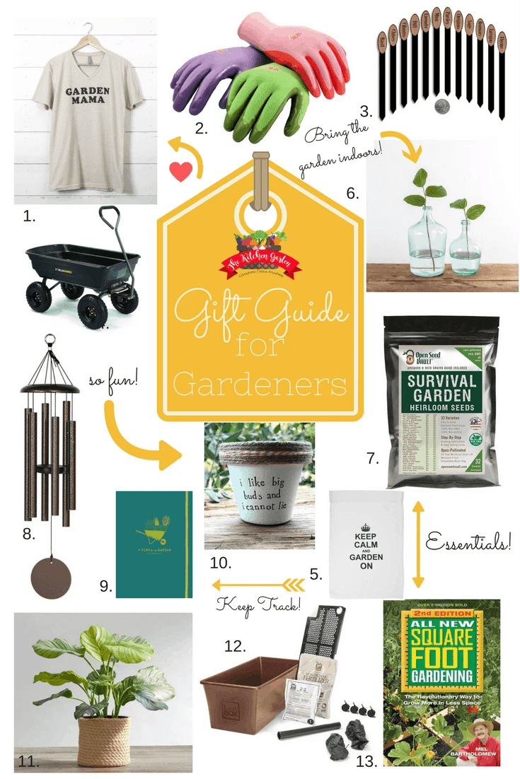 Find the perfect gift for any gardener with the Ultimate Gardener Gift Guide. With gifts in all price ranges, you're sure to find the perfect garden gift!