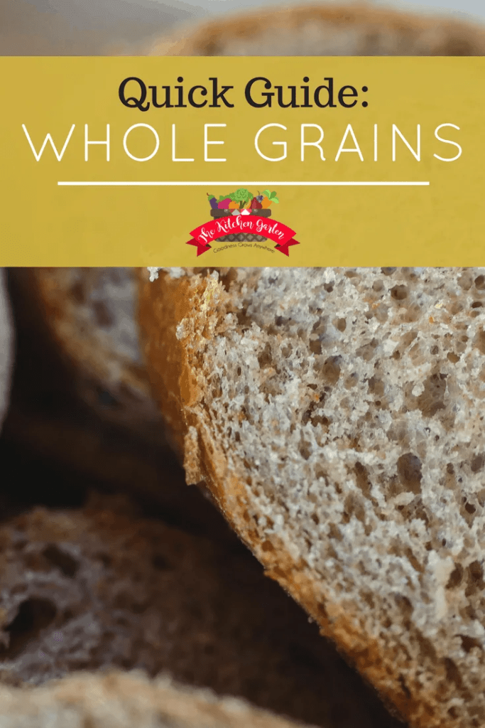 quick guide to whole grains