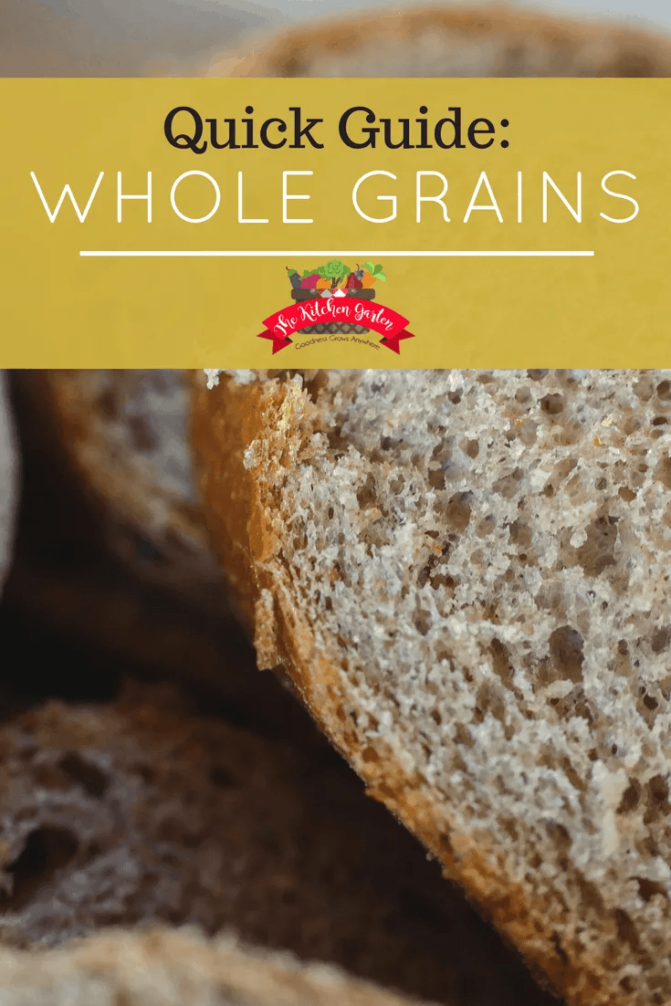 What are whole grains? How can you add eat more of them, and what grocery store grains truly are whole? Check out our quick guide to whole grains!