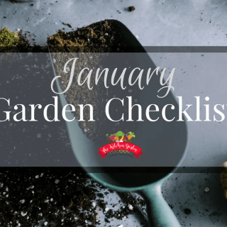 January Garden Checklist