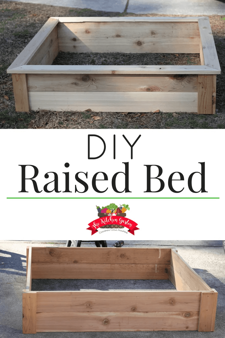 This DIY Raised Bed can be put together in a few hours with minimal tools required. And since it's made of durable cedar, it will last for years to come! So get building and then get gardening!