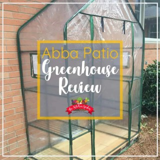 Abba Patio Mini Greenhouse Review