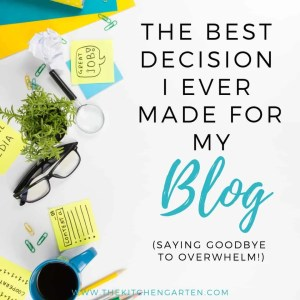 best blogging decision