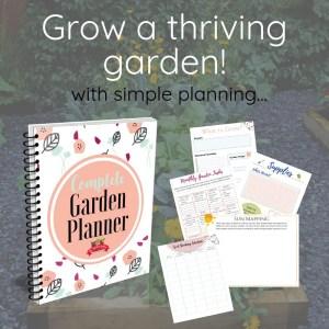 garden planner offer