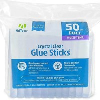 Ad-Tech 14ZIP50 Multi Temp Glue Stick (4 x 0.44-Inch), Pack of 50