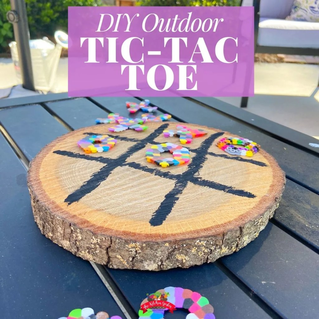 outdoor tic tac toe