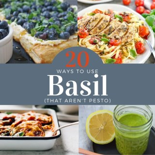 20 Ways to Use Fresh Basil