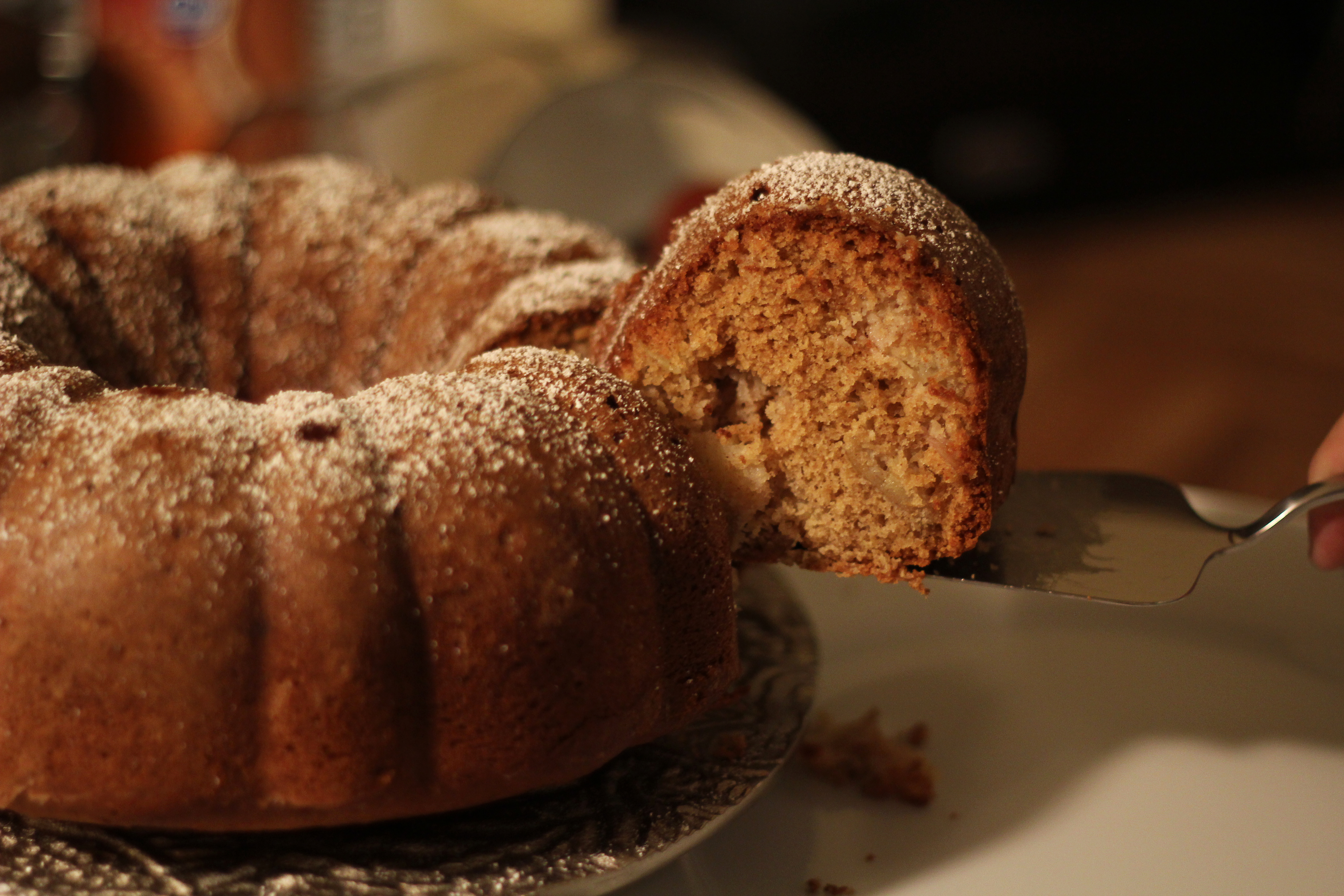Autumn Apple Bundt Cake