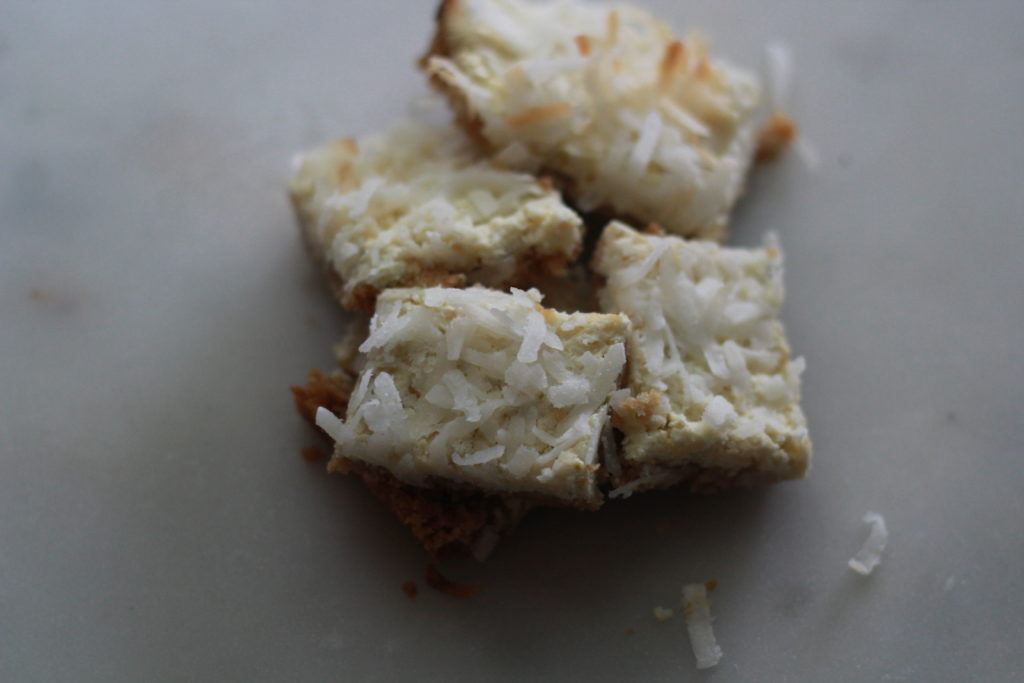 Coconut-Lime Bars