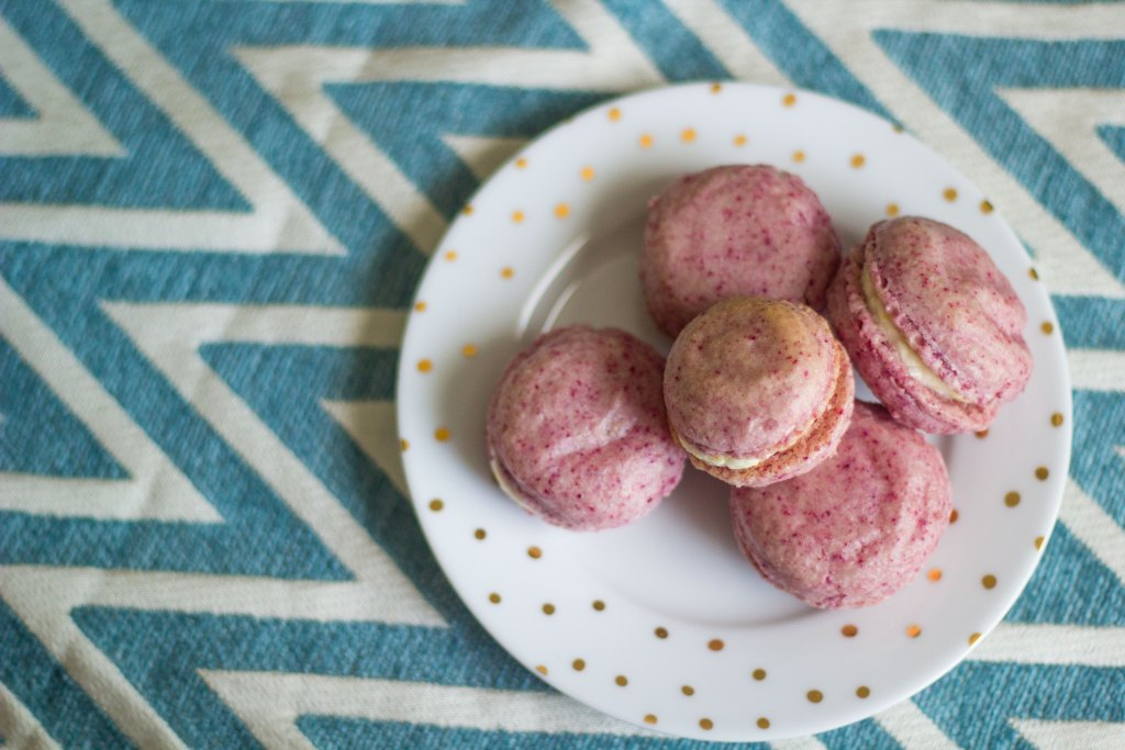 The Kitchen Gent | Raspberry Lemon Macarons