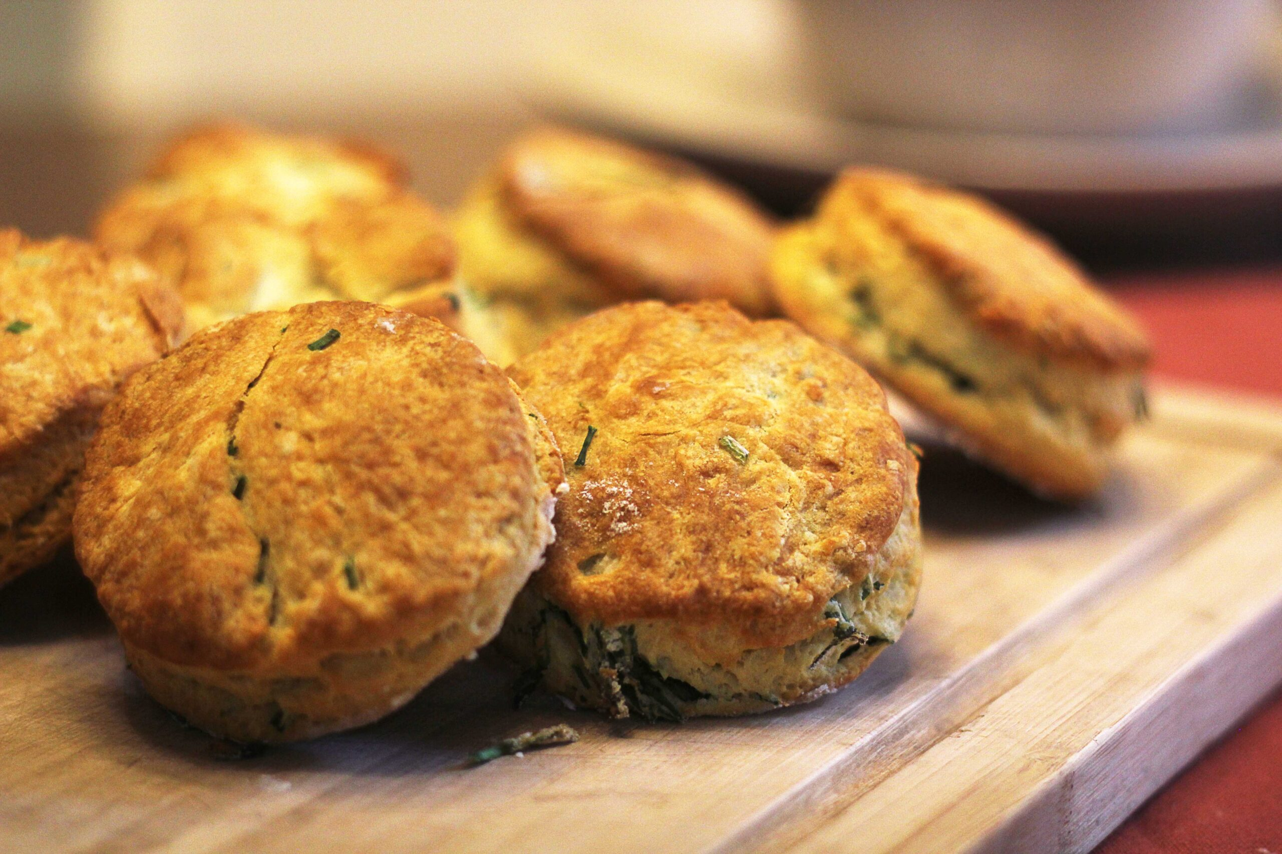 Buttermilk and Chive Biscuits