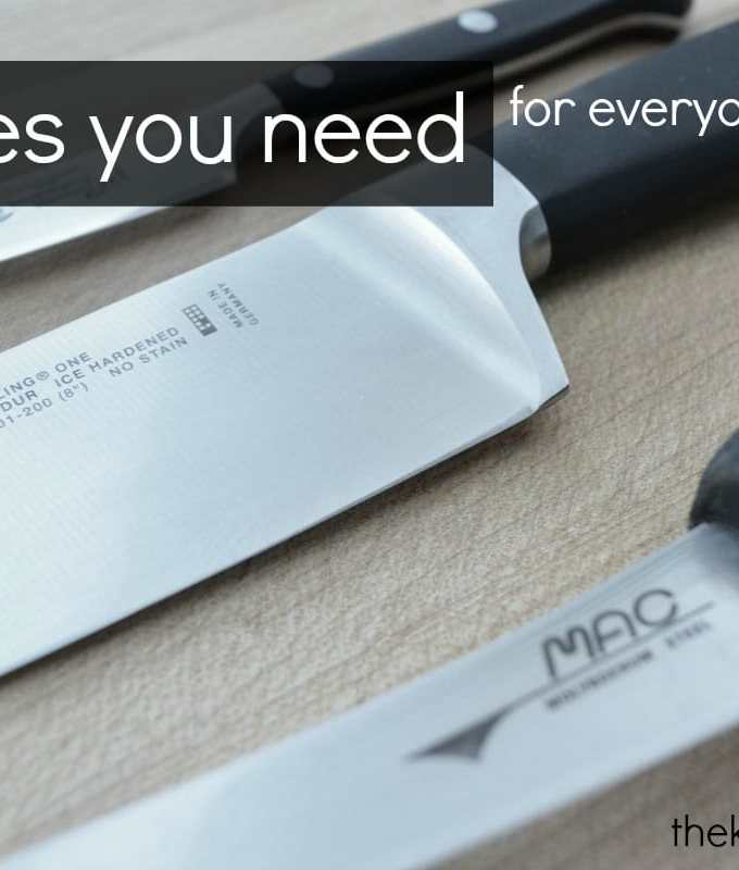 3 Knives You Need For Everyday Cooking