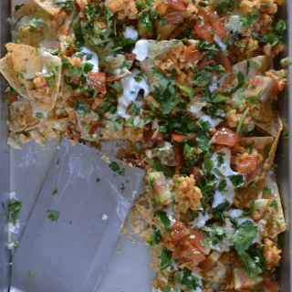 Very Vegetarian Nachos