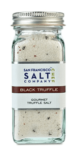 Black Truffle Salt - Come find out why I call this the 'bacon' of the seasoning world and how I use it | thekitchengirl.com
