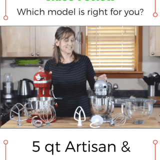 KitchenAid Stand Mixer Video Review: Artisan vs Professional