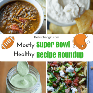 Mostly Healthy Super Bowl Recipe Roundup