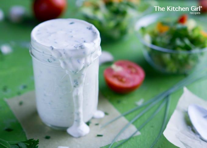 Skinny Greek Yogurt Ranch Dressing Easy And Healthy Mayo