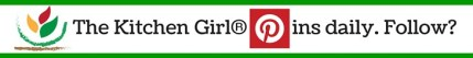 The Kitchen Girl® pins daily? Wanna follow?