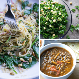 Vegan Recipes: simple, frugal, vegan recipes including salads, soups, sandwiches, pastas, rice dishes, and curries made with WHOLE FOOD ingredients. Many are gluten free! thekitchengirl.com