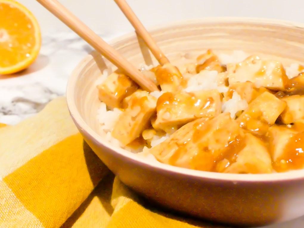Tofu à l'orange (1)
