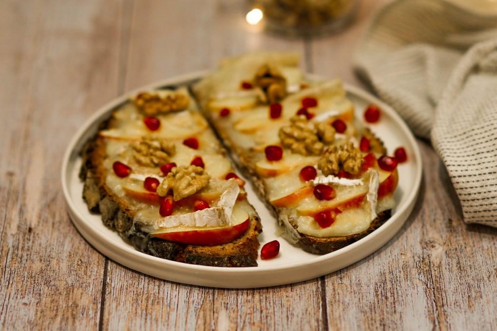 Tartines brie pommes (2)
