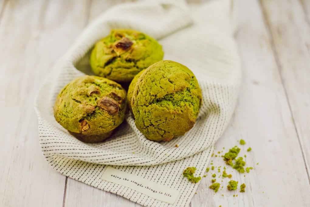 Muffins matcha chocolat blanc (5)