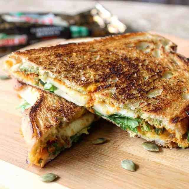 Weekends are for indulgence right? This Double Pumpkin Cheddar Grilledhellip