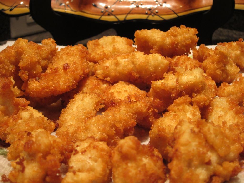 recipe: crispy honey lemon chicken [11]