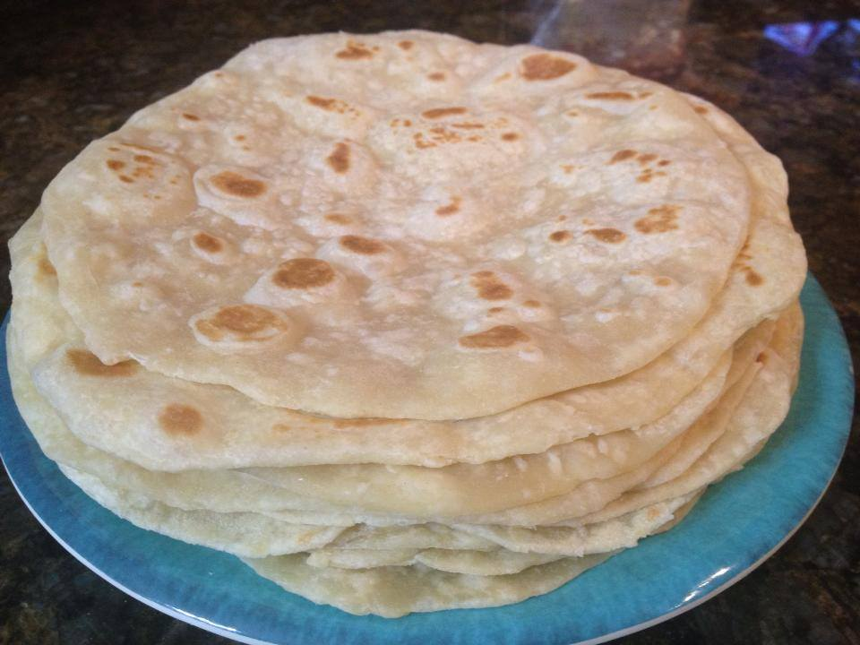 Homemade Soft White Flour Tortillas - The Kitchen Prescription