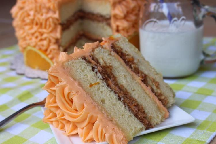 Orange Crunch Cake10