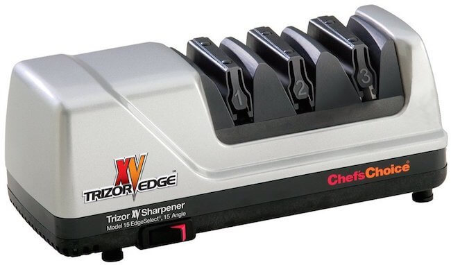Here is my top choice for kitchen knives -- The Chef's Choice Trizor. Check out my full review here. And see the LOWEST PRICE an Amazon here.