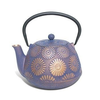 Cast Iron Teapot – Purple Hanabi
