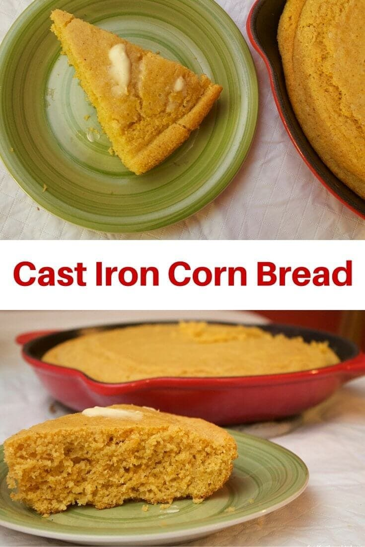 Cast Iron Corn Bread