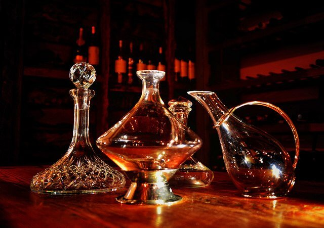 A decanter gives red wine the opportunity to open up, before it ever touches your glass!