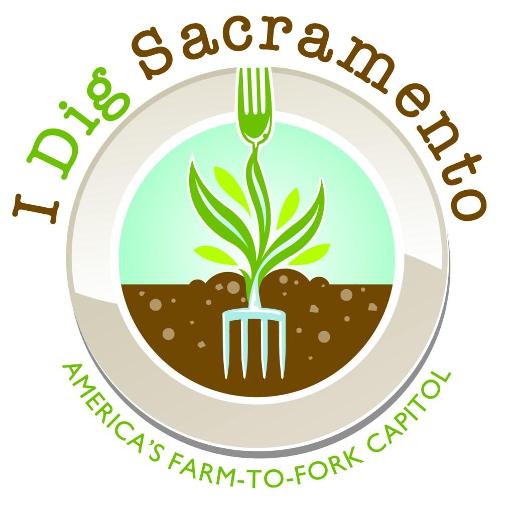 """Nelson's final """"I Dig Sacramento, America's Farm-to-Fork Capital"""" design"""