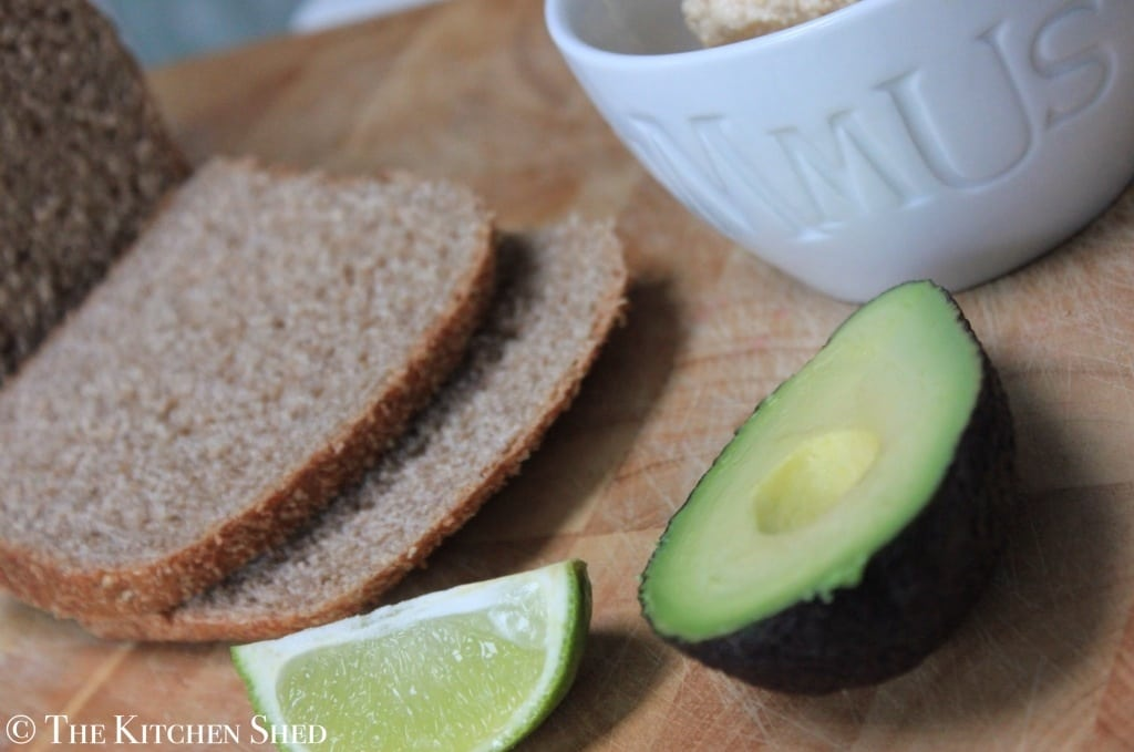 The Kicthen Shed - Clean Eating Houmous Avocado Toast