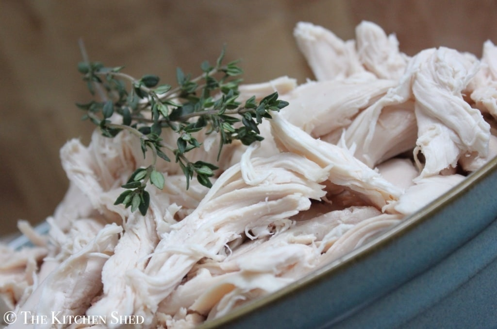The Kitchen Shed - Clean Eating Slow Cooker Whole Chicken