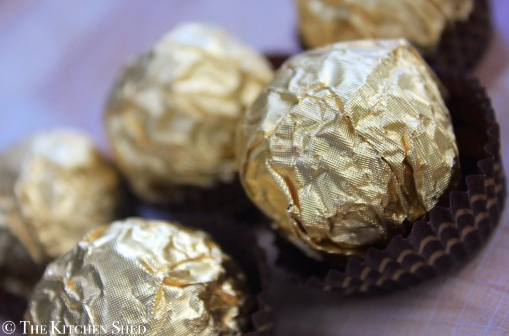 The Kitchen Shed - Clean Eating Ferrero Rocher