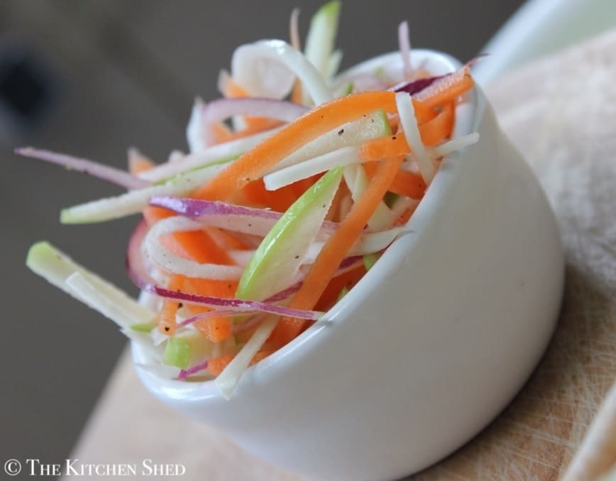 The Kitchen Shed - Clean Eating Coleslaw