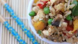 Clean Eating Chinese Fried Rice