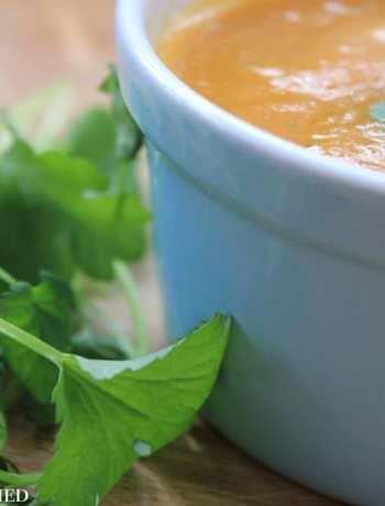 Carrot and Coriander Soup 1