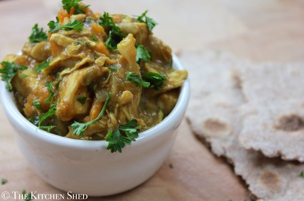 The Kitchen Shed - Chicken and Sweet Potato Curry