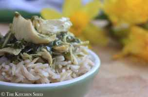 Clean Eating Chicken and Mushroom Supreme