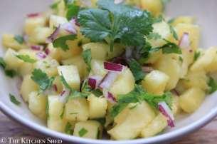 Clean Eating Pineapple Salsa