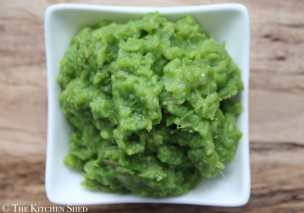 Clean Eating Mushy Peas