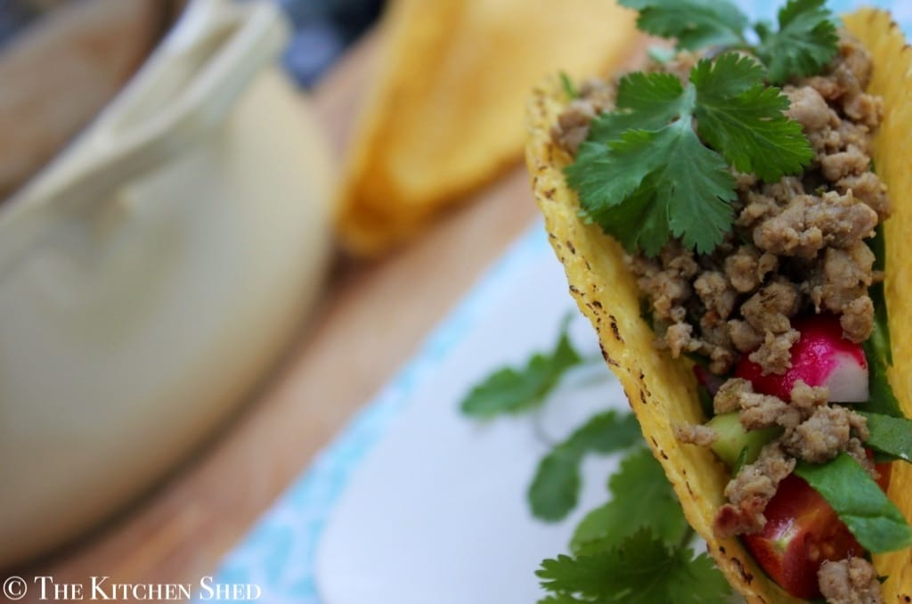 The Kitchen Shed - Clean Eating Mexican Turkey Tacos